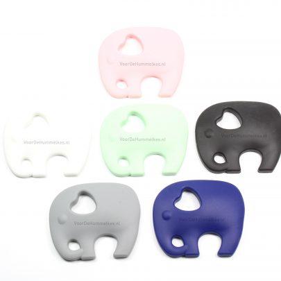 Siliconen bijtfiguur olifant