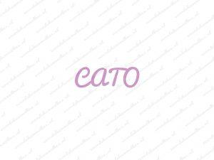 Serie Cato