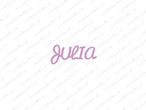 Serie Julia