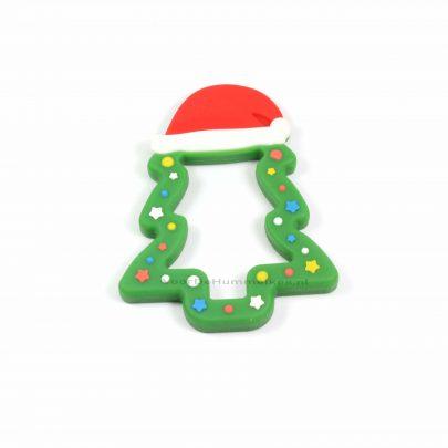 siliconen_bijtfiguur_kerstboom_donker_groen