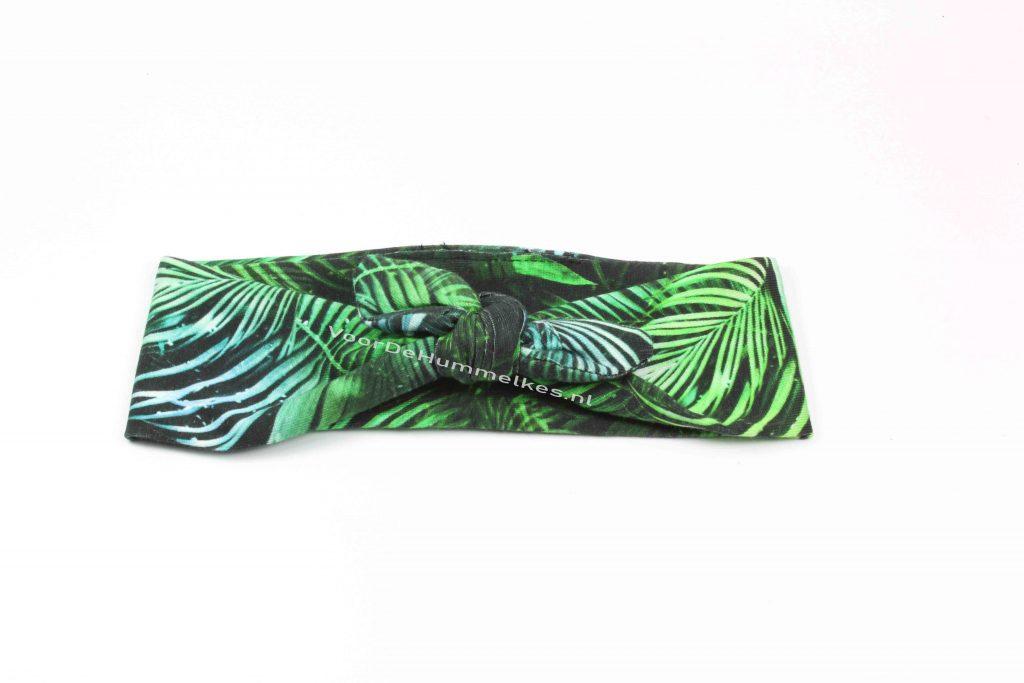 Haarbandje met jungleprint by Kel's
