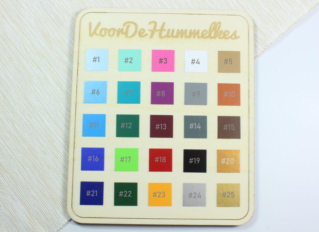 Vinyl_kleurenkaart