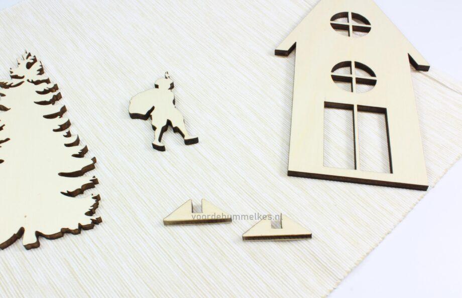 standaard-vensterbankhuisjes