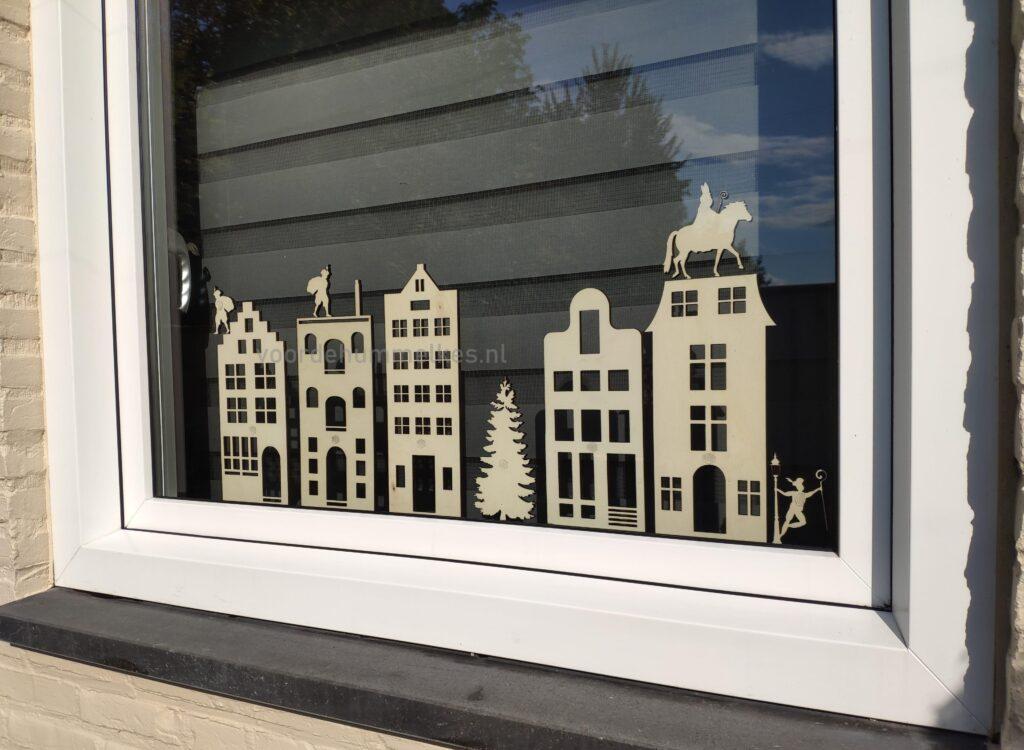 vensterbankhuisjes / grachtenpandjes