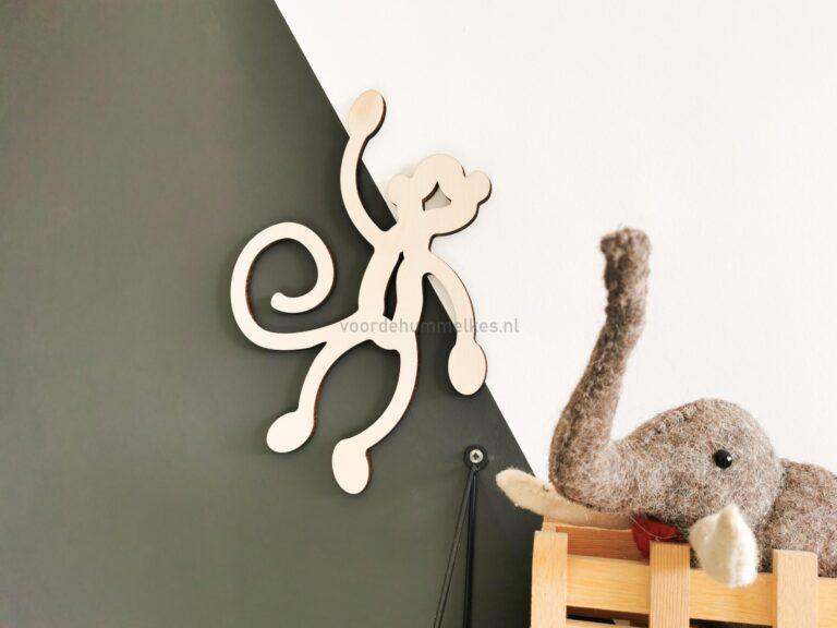 Kinderkameraccessoires-houten-aapje