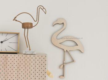 Kinderkameraccessoires-houten-flamingo